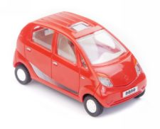 Centy Tata Nano Red Pullback Car