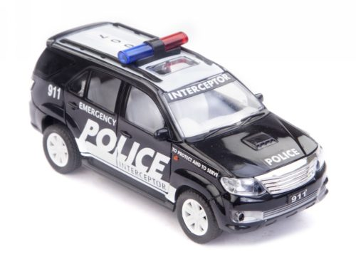 Police Car Toys For Boys : Buy centy police interceptor car pullback black online