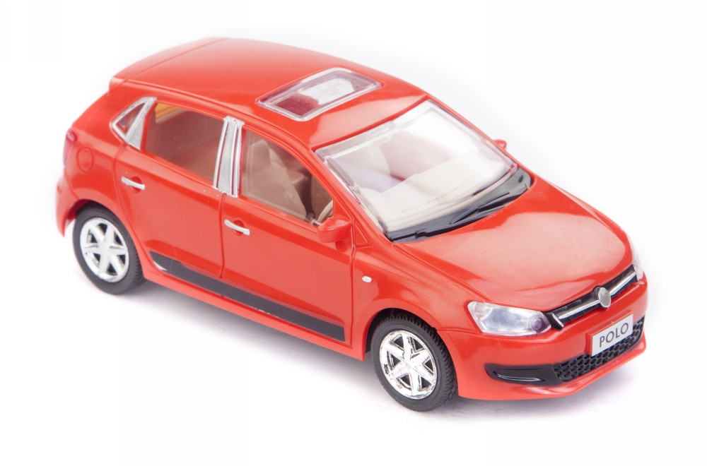 Buy Centy Volkswagen Polo Pullback Car Red Online In India