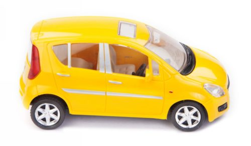 Centy Maruti Suzuki Ritz Yellow Pullback Car