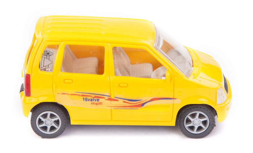 Buy Centy Maruti Suzuki Wagon R Pullback Car Yellow