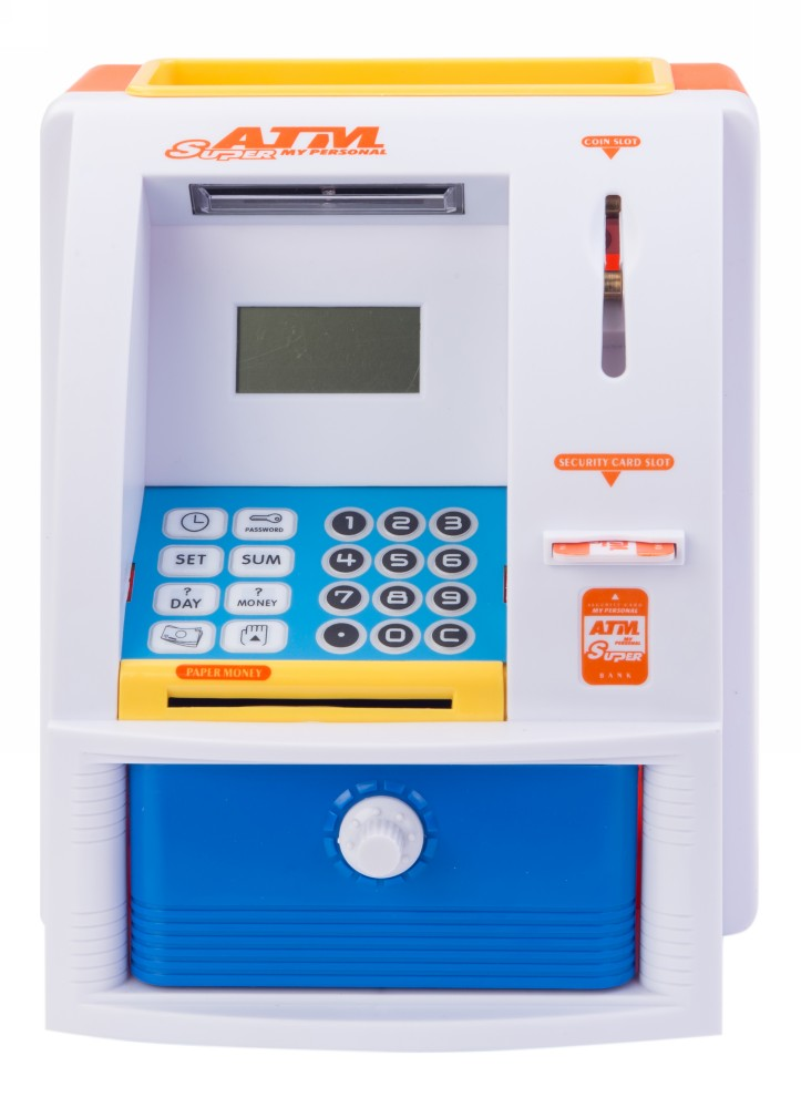 Buy Atm Money Piggy Bank Online In India Kheliya Toys