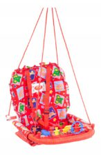 Jiya Baby Swing Cotton Red