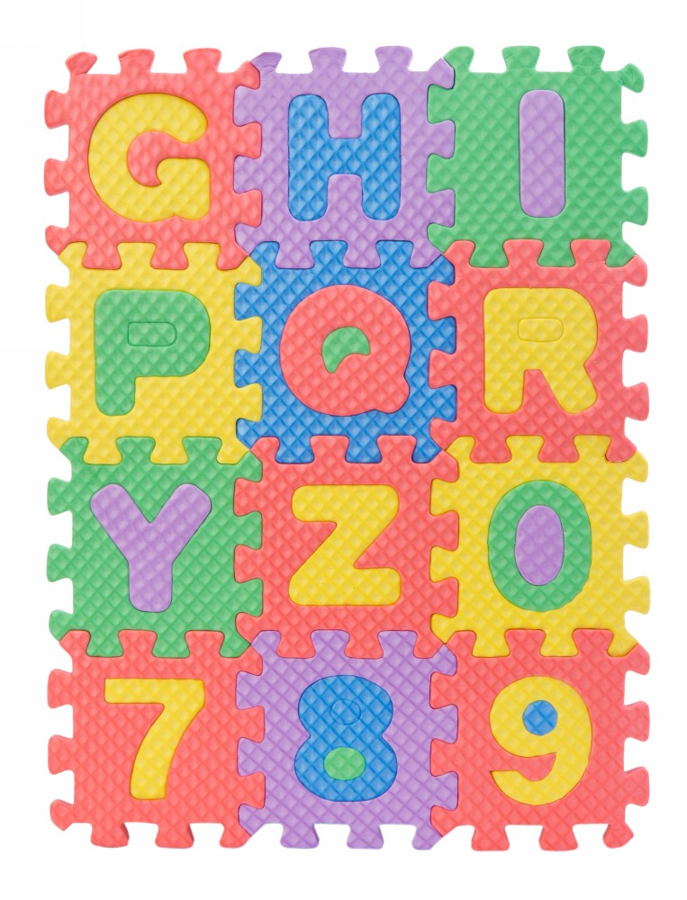 Buy Eva Alphabets Amp Numbers Puzzle Mat Small Online In