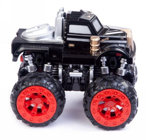 Friction Car Monster Truck Black
