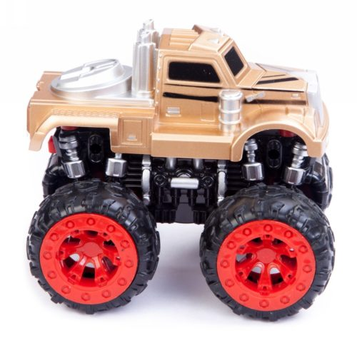 Friction Car Monster Truck Golden