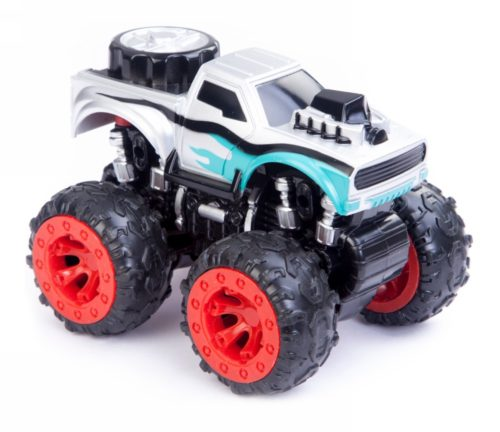Friction Car Monster Truck Gray