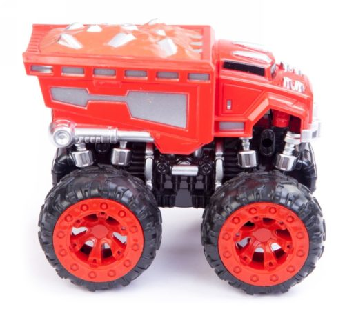 Friction Car Monster Truck Red