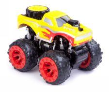 Friction Car Monster Truck Yellow