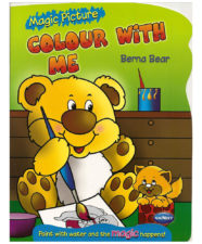 Navneet Magic Picture Colour With Me Berna Bear