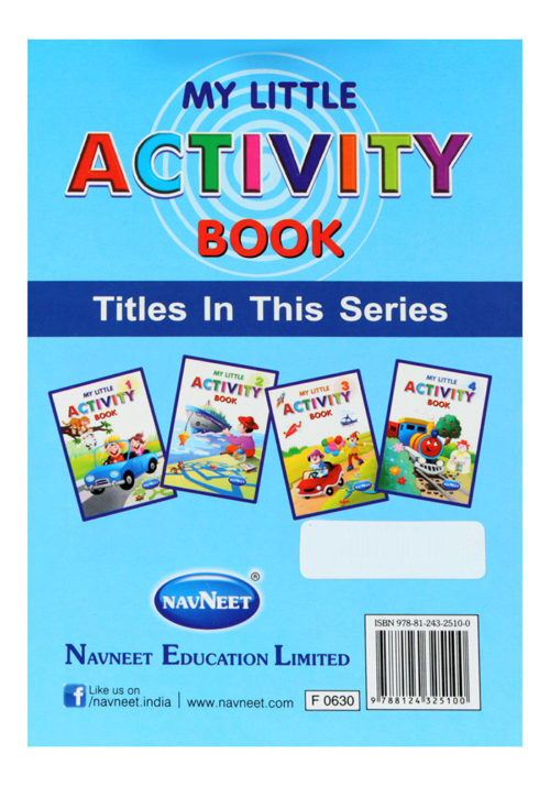 Navneet My Little Activity Book Part-4