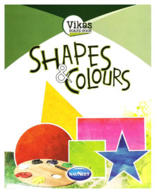 Navneet Vikas Board Book - Shapes & Colours