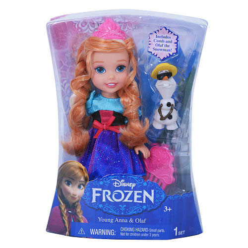 buy frozen movie petite toddler anna doll 6 u0026quot   31012  online in india  u2022 kheliya toys