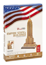 Cubic Empire State Building 55 Pcs 3D Puzzle
