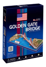 Cubic Golden Gate Bridge 20 Pcs 3D Puzzle