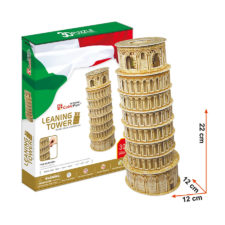 Cubic Leaning Tower 13 Pcs 3D Puzzle