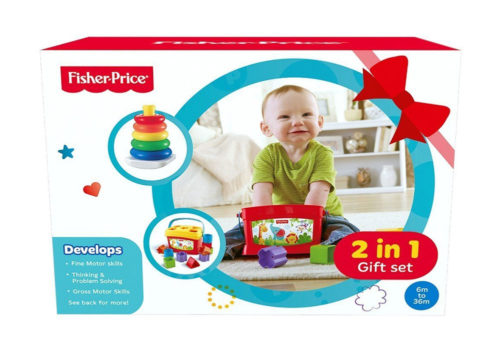 Fisher-Price Baby Gift Pack 2-In-1 Gift Set FBP4
