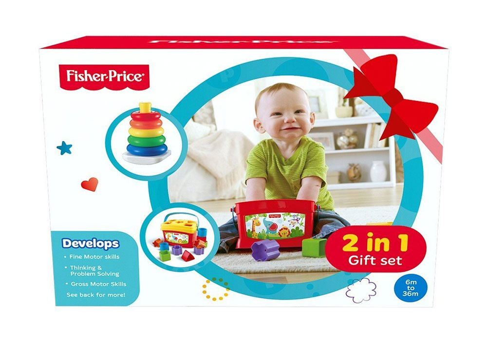 245edcdddab Buy Fisher-Price Baby Gift Pack 2-In-1 FBP4 Online In India • Kheliya ...