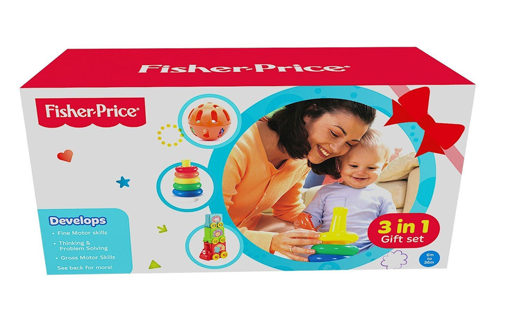 bc6703de5d1 Buy Fisher-Price Baby Gift Pack (3-In-1) FBP95 Online In India ...