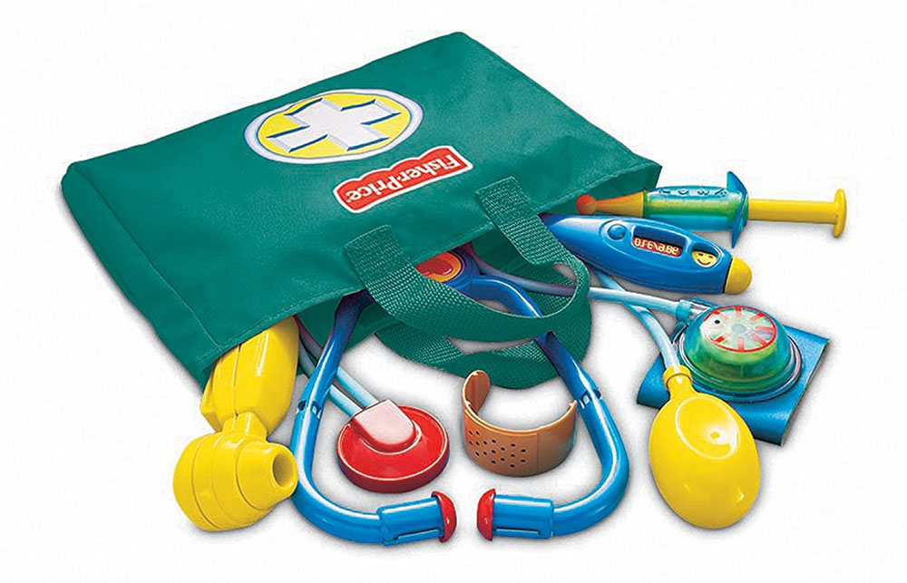 Buy Fisher Price Medical Doctor Kit India