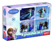 Frank 4-In-1 Disney Frozen Jigsaw Puzzle