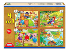 Frank 4-In-1 Classic Stories Jigsaw Puzzle