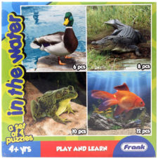 Frank Animal In The Water Jigsaw Puzzle