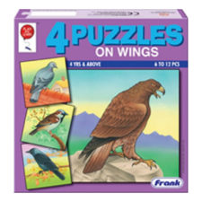 Frank Animal On Wings Jigsaw Puzzle