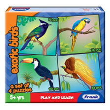 Frank Exotic Birds Jigsaw Puzzle