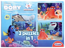Frank Finding Dory 3-In-1 26 Pcs Jigsaw Puzzle