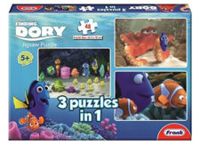 Frank Finding Dory 3-In-1 48 Pcs Jigsaw Puzzle