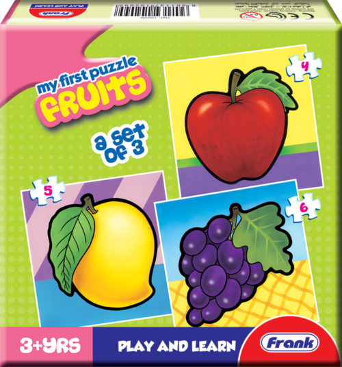 Frank My First Fruits Jigsaw Puzzle