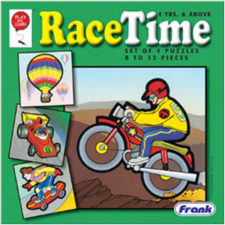 Frank Junior Race Time Jigsaw Puzzle
