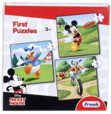 Frank Mickey Mouse & Friends 3-In-1 Jigsaw Puzzle