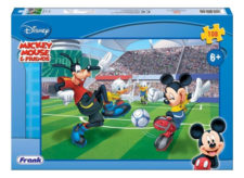 Frank Mickey Playing Football 108 Pc Jigsaw Puzzle