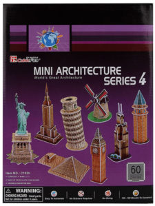 Frank Mini Architecture Series-4 3D Puzzle