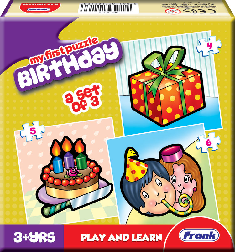 Buy Frank 'My First Birthday' Jigsaw Puzzle Online In