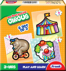 Frank My First Circus Jigsaw Puzzle