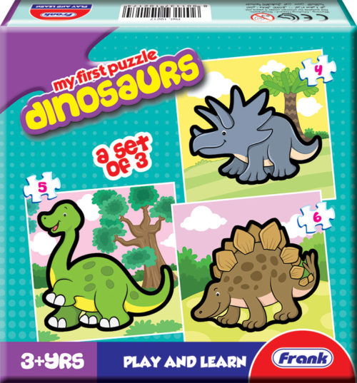 Frank My First Dinosaurs Jigsaw Puzzle