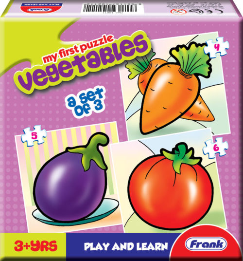 Frank My First Vegetables Jigsaw Puzzle