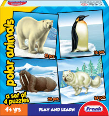 Frank Polar Animals Jigsaw Puzzle