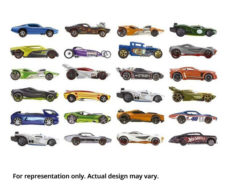 Hot Wheels Basic Car Assortment (Design May Vary)