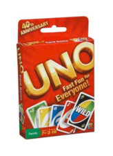 Mattel Uno Card Game 41001