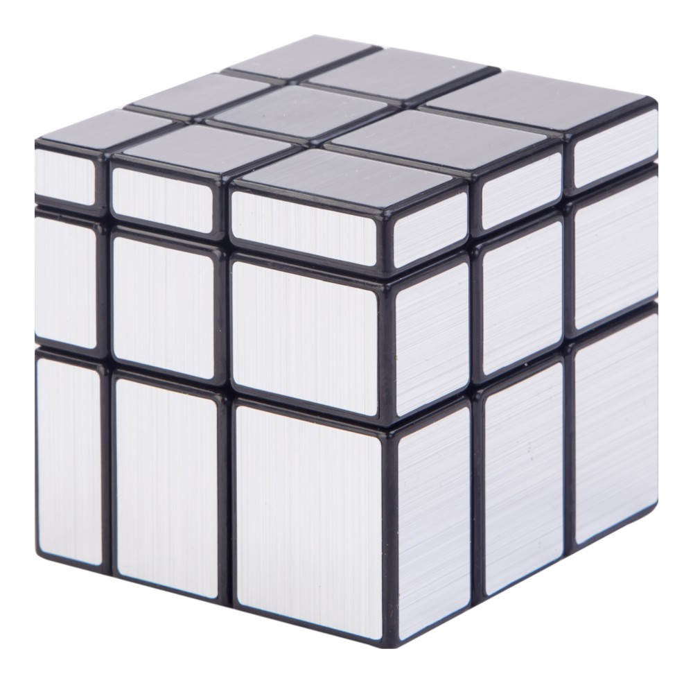 Buy Mirror Cube Puzzle Game Silver Online In India