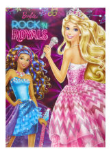 Parragon Barbie Rock & Royals Padded Book