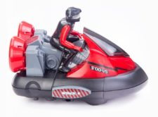 Remote Bumper Cars Red Black