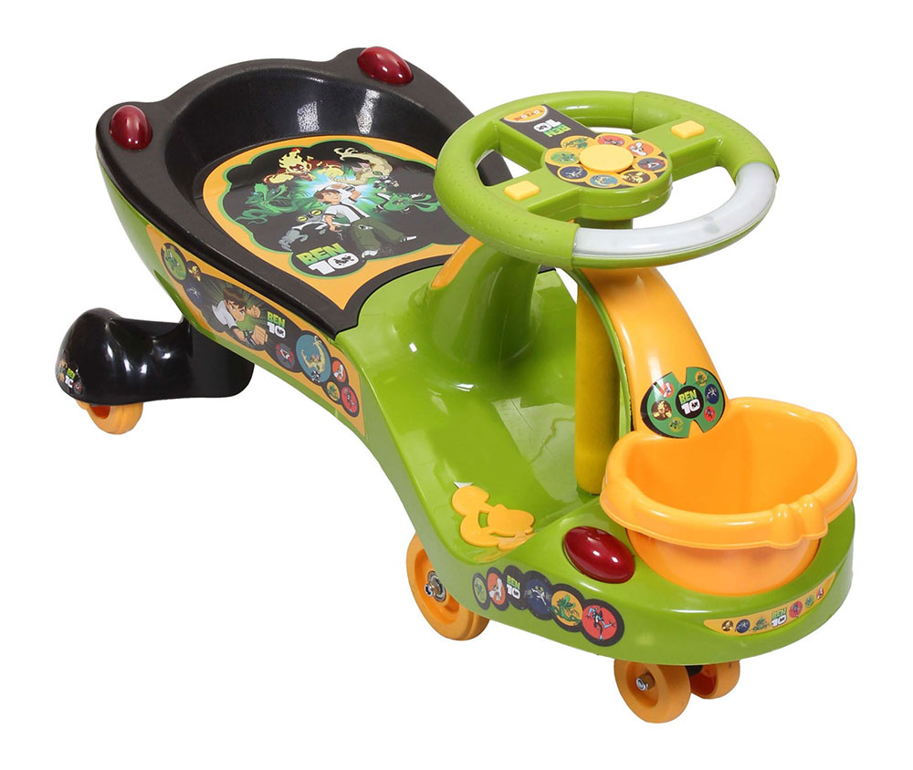 Buy Toyzone Ben-10 Eco Twist Car Ride-on Online In India