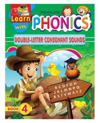 Dreamland Learn With Phonics Double-Letter Consonant Sounds Book-4