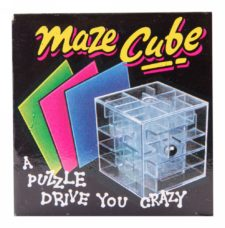 Maze Cube Puzzle Game
