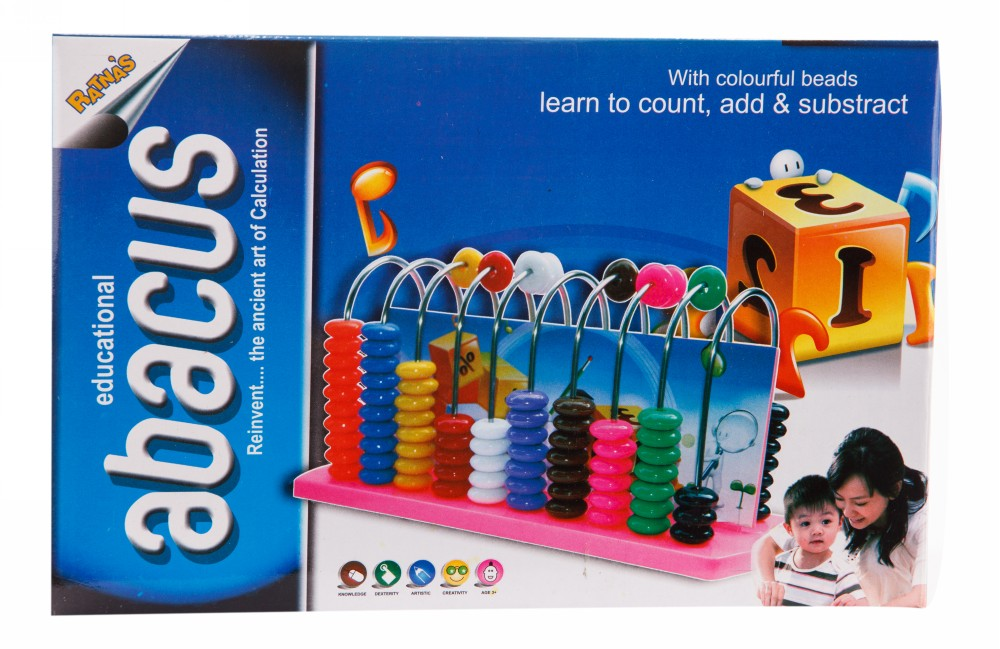 Buy Educational Abacus Big Learn Simple Calculations